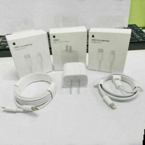 For iPhone 12 Pro Max iPad 20W Fast Charger USB C PD Type C Original Adapter