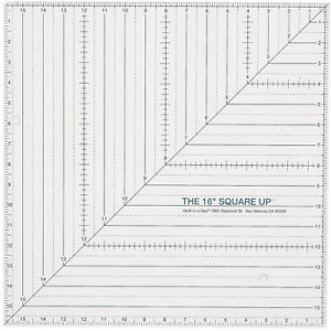 Quilt In A Day 16 Inch by 16 Inch Square Up Ruler $36.51