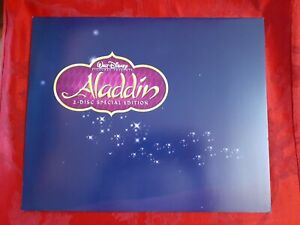 Disney Aladdin 4 Limited Edition Lithograph Set Exclusive Lithographs 2004 $5.39