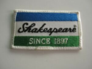 Vintage Shakespeare Since 1897 Fishing Cloth Patch BIS