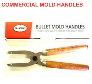 Lee Precision 90005 Commercial Bullet Mold Handles for 6 cavity molds $21.00