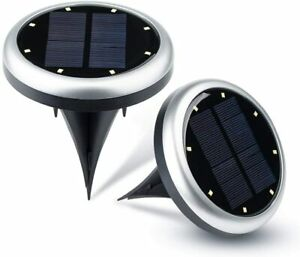 4 Pack Upgraded Solar LED Garden Outdoor In ground Lights Patio Yard Driveway $19.99
