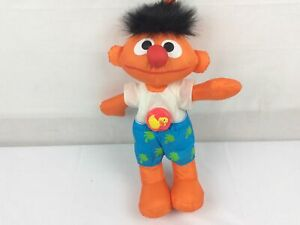 Vintage Sesame Street Swim n Splash Ernie 1997 Tyco Plush Working
