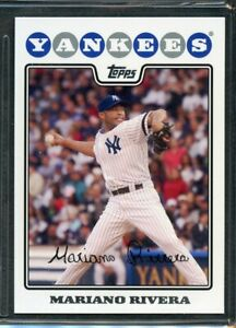 2008 Topps Baseball #590 Mariano Rivera New York Yankees $0.99
