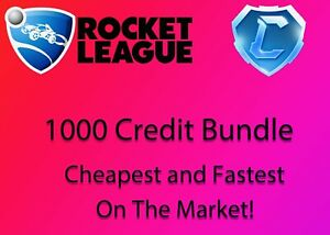 🔥1000 Rocket League Credits🔥FastestCheapest on the Market🔥PC ONLY🔥 $7.00