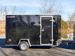 2021 Wells Cargo FastTrac Enclosed Motorcycle Landscape Utility V Trailer 6x12