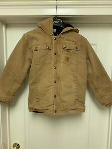 Youth Large Carhartt Jacket NO FLAWS Duck Jacket