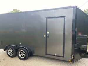 7 by 14 enclosed trailer
