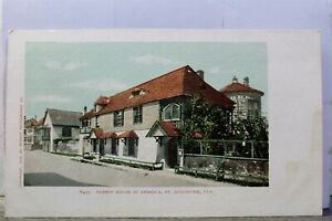 Florida FL St Augustine Oldest House in America Postcard Old Vintage Card View $1.00