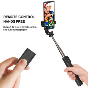 Wireless Bluetooth Extendable Foldable Selfie Stick Tripod with Remote Control $14.69