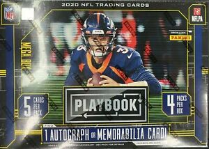 2020 Panini Playbook Football Mega Box FACTORY SEALED $47.99
