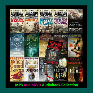 The BERNARD CORNWELL COLLECTION 3 Series amp; More 16 MP3 Audiobook Collection $29.90