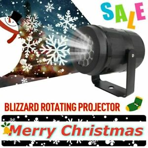 Christmas LED Moving Laser Projector Light Xmas Party Outdoor Landscape Lamp $13.92