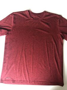 Nike Dry Fit Shirt Men's Dri Fit Athletic Red XL $10.00