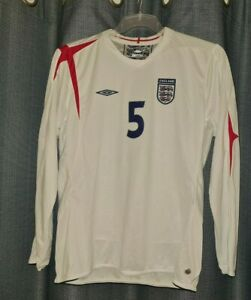 ENGLAND Umbro Football Shirt Women Player Issue Ladies Size 14 Long Sleeved 2005 GBP 19.95