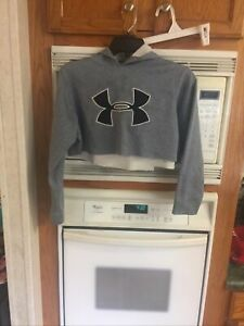 girls under armour hoodie small CUT OFF $5.50