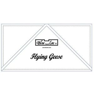 Bloc Loc 4quot; x 8quot; Flying Geese Square Up Ruler $30.60