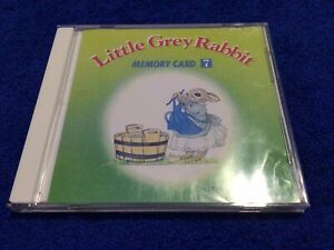 Janome Machine Embroidery Memory Card Little Grey Rabbit #7 Free Shipping $14.99