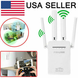 1200Mbps WiFi Range Extender Repeater Wireless Amplifier Router Signal Booster $18.99
