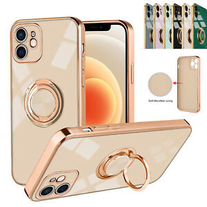 For iPhone 13 12 11Pro Max Mini XS XR Magnetic Shockproof Ring Holder Case Cover $7.76