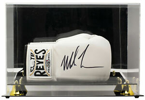 Mike Tyson Signed Right White Cleto Reyes Boxing Glove w Case JSA ITP $289.99