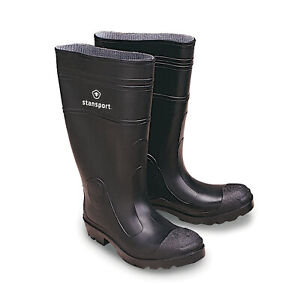 STANSPORT KNEE BOOTS NON SKID PVC 16 IN HIGH OUTDOOR FISHING WADING RAIN HUNTING