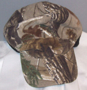 Academy Camouflage HUNTING Thinsulate Flex Insulation Ear Cover Ball Cap OSFM