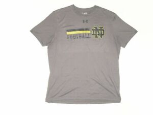 SCOTT DALY PLAYER ISSUED NOTRE DAME FIGHTING IRISH #61 UNDER ARMOUR XL SHIRT $34.99
