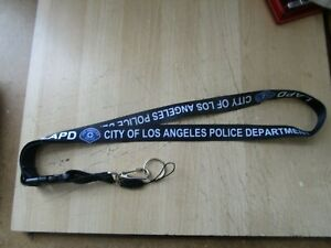 LAPD LOS ANGELES POLICE DEPARTMENT LANYARD ID HOLDER $7.75