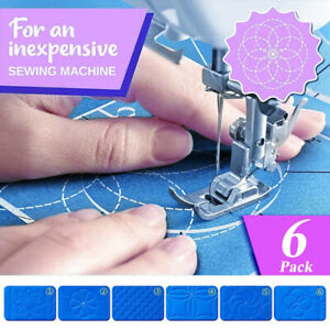 6pc Shaped Acrylic Ruler Sewing Patchwork Ruler Multifunctional DIY Sewing Ruler $16.99