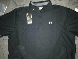 UNDER ARMOUR GOLF POLO SHIRT LOOSE FIT SIZE 4XL MEN NWT $64.99 $44.99