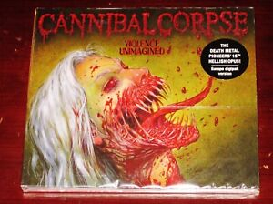 Cannibal Corpse: Violence Unimagined Limited Edition CD 2021 EU Digipak NEW $18.95