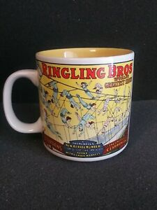 Ringling Brothers Barnum Bailey Coffee Cup Circus Mug Vintage Collectible 1988 $7.00