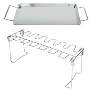 Outdoor Camping Picnics Stainless Steel Barbecue BBQ Grill Stove Chicken Co New