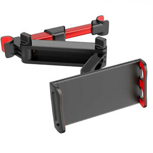 Extendable Foldable Headrest Mount Holder Metal Car Seat For iPhone iPad Tablet $14.99