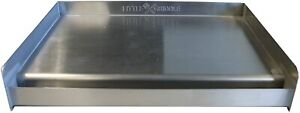 Sizzle Q SQ180 100% Stainless Steel Universal Griddle with Even Heating Cross