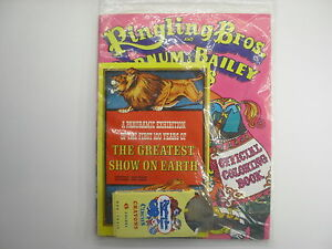 Ringling Brothers Barnum Bailey Circus Coloring Book Unused 100 Yr Anniv. $12.50