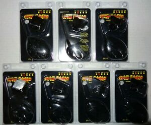 Lot of 7 New War Eagle Custom Lures Buzzbait 1 4oz Fishing Lures Black WE14BB70