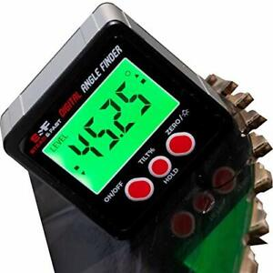 Digital Angle Finder Gauge Magnetic Protractor Inclinometer Angle Cube Level $33.76