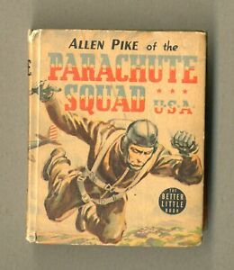 Allen Pike of the Parachute Squad USA #1481 VG 4.5 1941