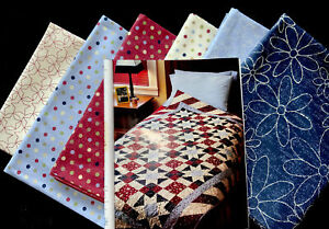 """""""Glory Days"""" Quilt Kit by Fons amp; Porter. Fabric By Clothworks. 52"""" X 68"""" $75.00"""