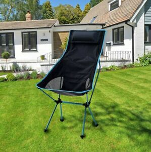 Lightweight Folding Camping Chair Garden Outdoor Fishing With Carry Bag