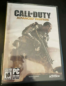 PC GAME CALL OF DUTY ADVANCED WARFARE BRAND NEW SEALED $39.99