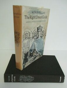 Alfred Duggan THE RIGHT LINE OF CERDIC 1st US 1961 in DJ Alfred The Great $33.96