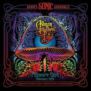 The Allman Brothers Bears Sonic Journals: Fillmore East February 1970 New Vi $26.01
