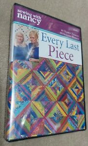 Sewing with Nancy Every Last Piece DVD with Lynn Harris NEW Fabric Scraps $20.00