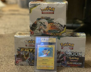 Pokemon Booster Box Bundle Special Delivery Pikachu Sealed Boxes‼�Free Shipping $1499.00