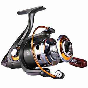 Sougayilang Spinning Fishing Reels with Left Right Interchangeable Collapsible W