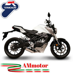 Full Exhaust System Termignoni Honda Cb 125 2018 2019 Motorcycle Force Steel GBP 690.00
