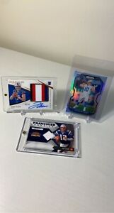 Josh Allen Immaculate Auto Patch Rookie 99 Chaser REPACK Lot Prizm Optic Brady $14.99